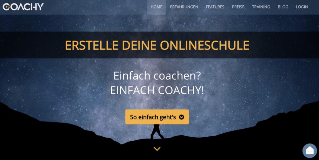 Coachy Onlinekurs Plattform Vergleich