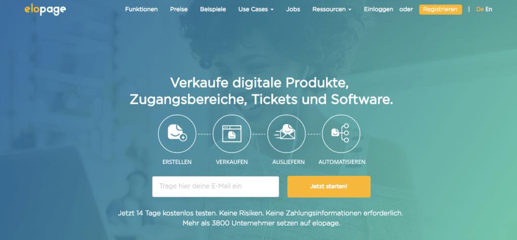 Elopage Onlinekurs Plattform Vergleich