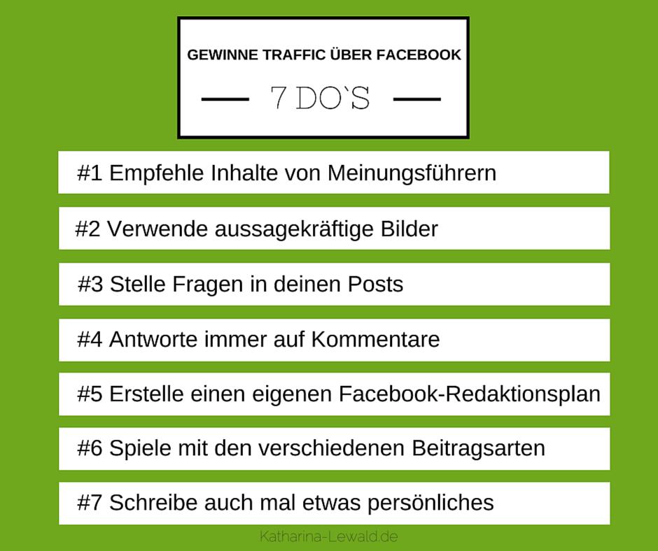 Facebook Traffic DOs