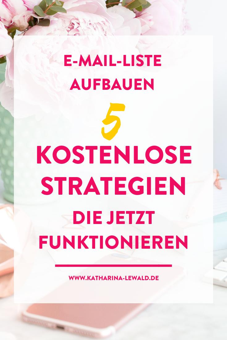 E-Mail-Liste-Aufbauen-Strategien