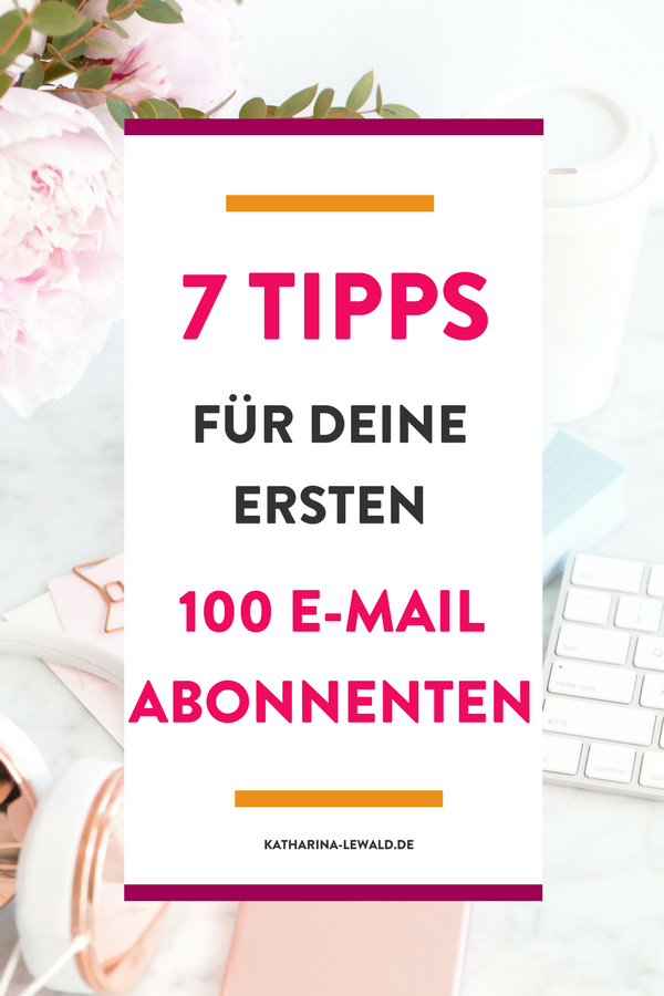 E-Mail-Abonnenten
