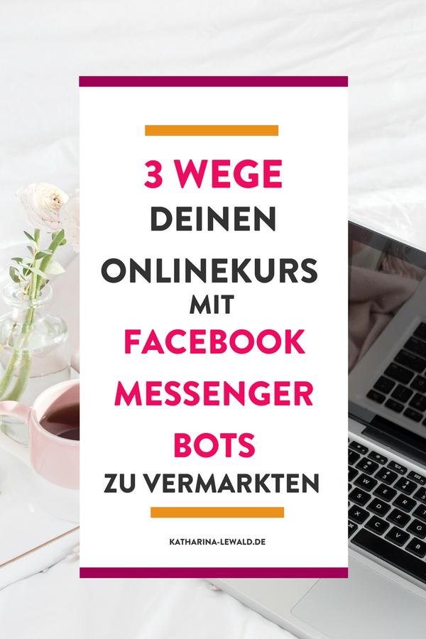 Onlinekurs Messenger Bots