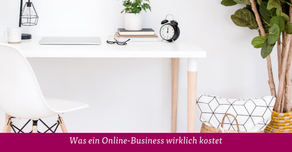Was ein Online-Business wirklich kostet