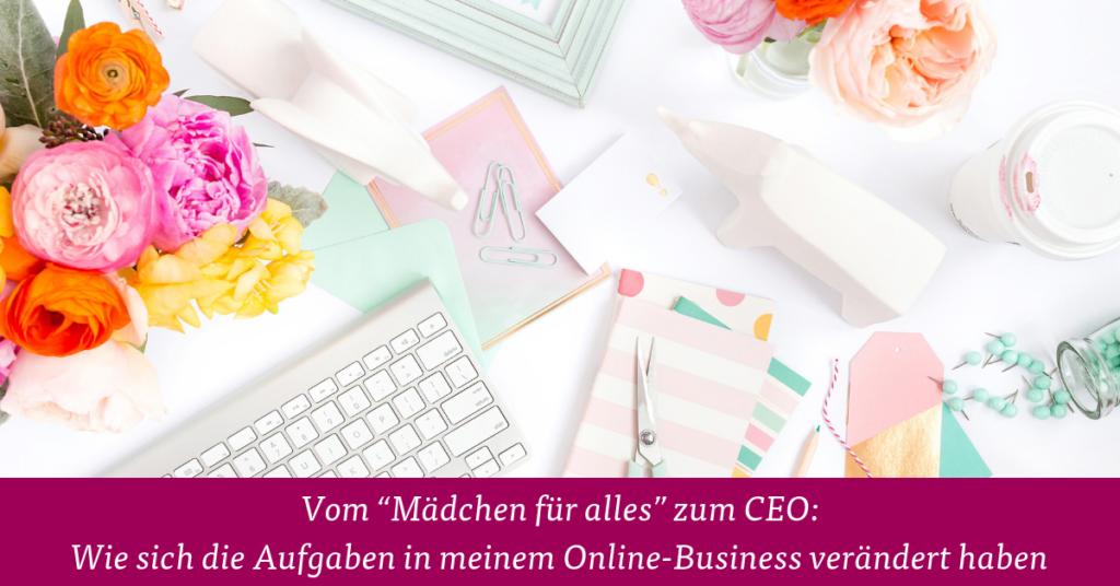Aufgaben Online Business