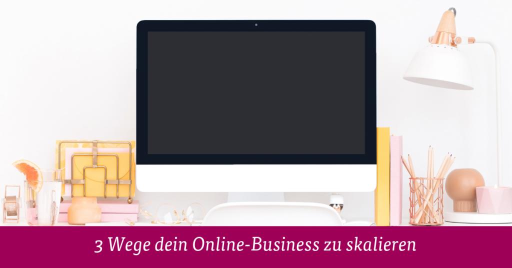 Online Business skalieren
