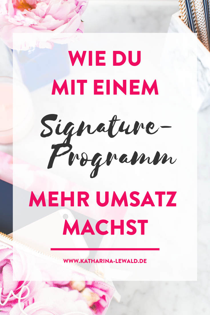 Signature-Programm