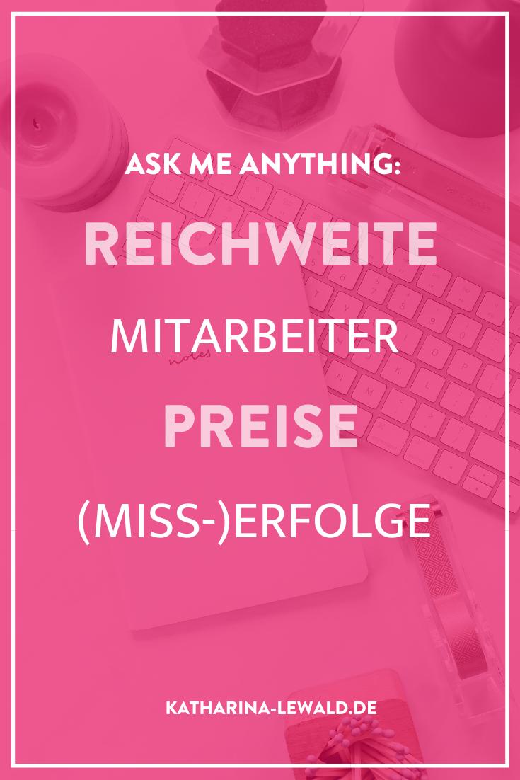 Ask Me Anything: Reichweite, Mitarbeiter, Preise, (Miss-)Erfolge