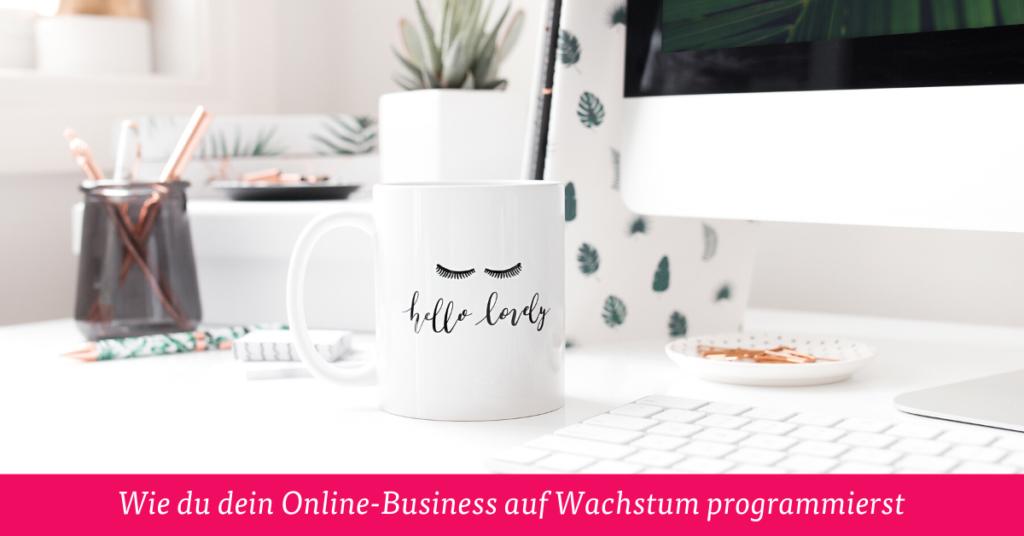 Wie du dein Online-Business auf Wachstum programmierst