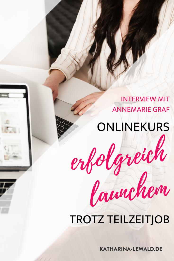 Onlinekurs erfolgreich launchen trotz Teilzeitjob mit Friseurcoach Annemarie Graf
