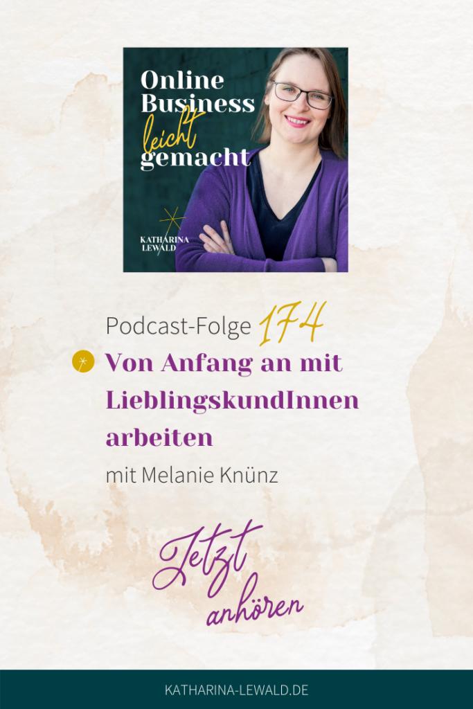 Von Anfang an mit LieblingskundInnen arbeiten mit Melanie Knünz