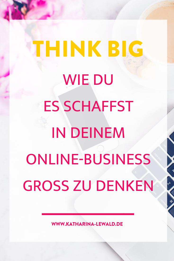 Think Big im Online-Business