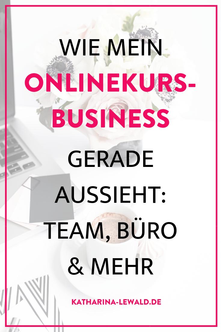 Wie mein Onlinekurs-Business gerade aussieht: Team, Büro & mehr