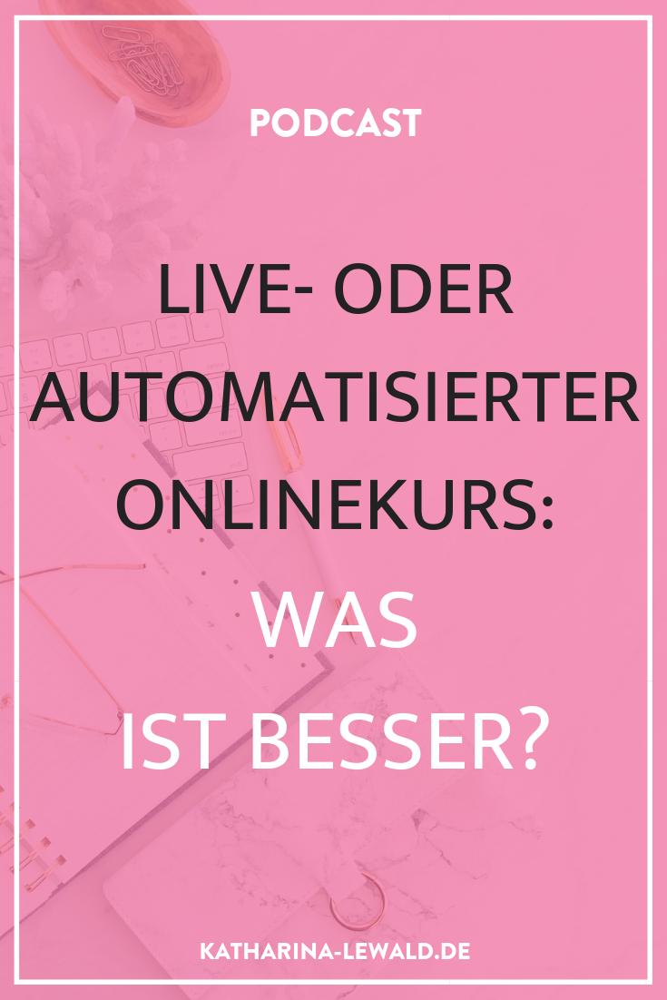 Live- oder automatisierter Onlinekurs: Was ist besser?