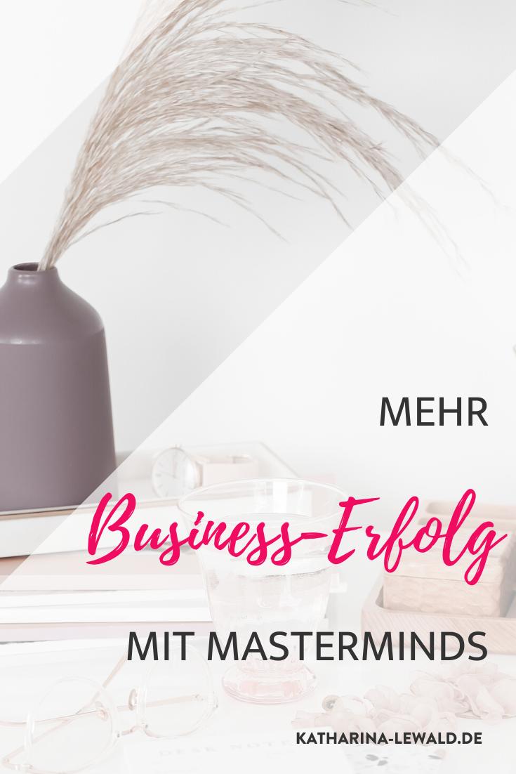 Mehr Business-Erfolg mit Masterminds