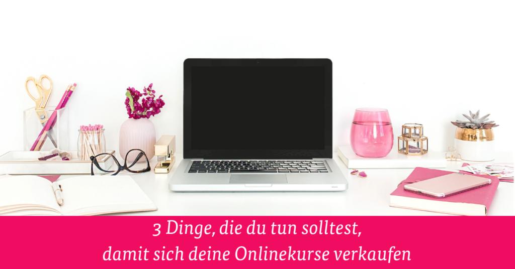 Onlinekurse verkaufen