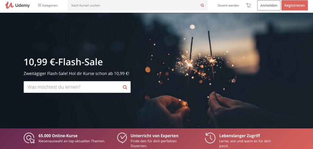 Udemy Onlinekurs Plattform Vergleich