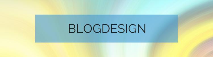 Überschrift Blogdesign