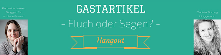 Gastartikel Hangout Google+ Header