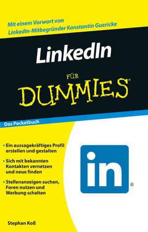 """Cover von """"LinkedIn für Dummies"""""""