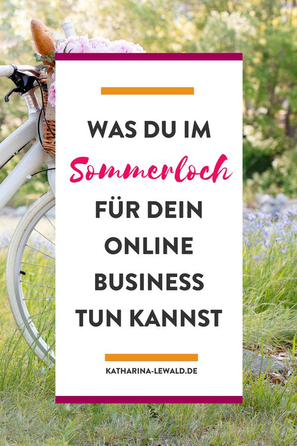 Online-Business: Mit diesen 7 Dingen nutzt du das Sommerloch sinnvoll
