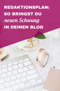 Redaktionsplan: So bringst du neuen Schwung in deinen Blog, von Katharina Lewald