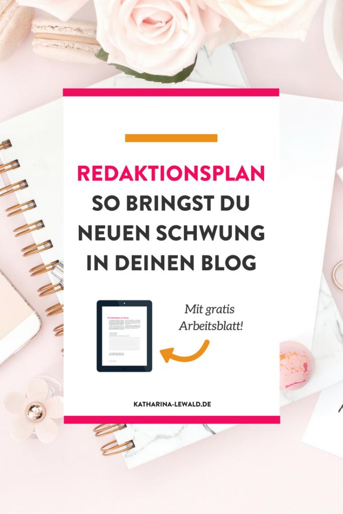 Ein Redaktionsplan hilft dir deinen Blog regelmäßig mit neuen Beiträgen zu füllen. Doch was gehört rein? Hier erfährst du es!