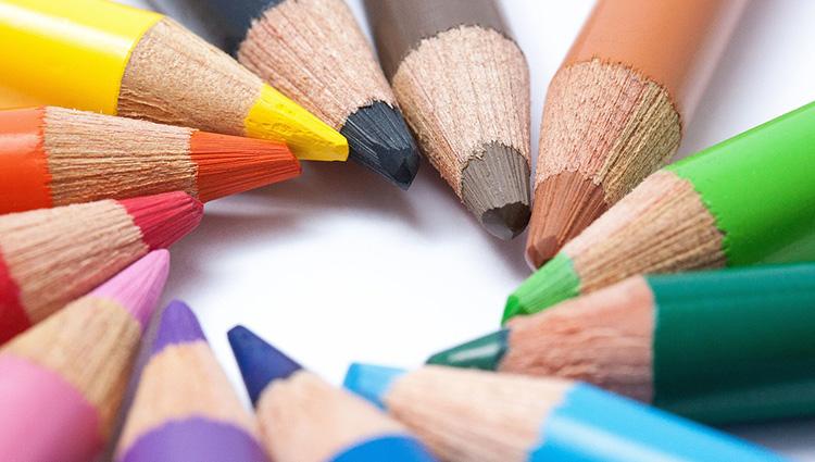 Bunte Stifte gegen die Schreibblockade