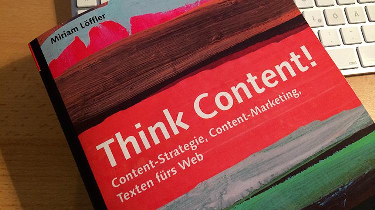 "Cover von ""Think Content!"""